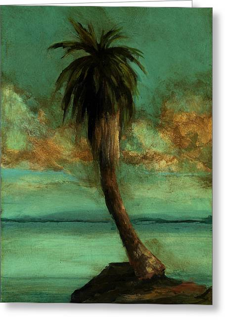 Mayfield Greeting Cards - Palm 2 Greeting Card by Mickey Mayfield
