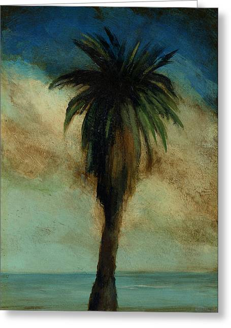 Mayfield Greeting Cards - Palm 3 Greeting Card by Mickey Mayfield