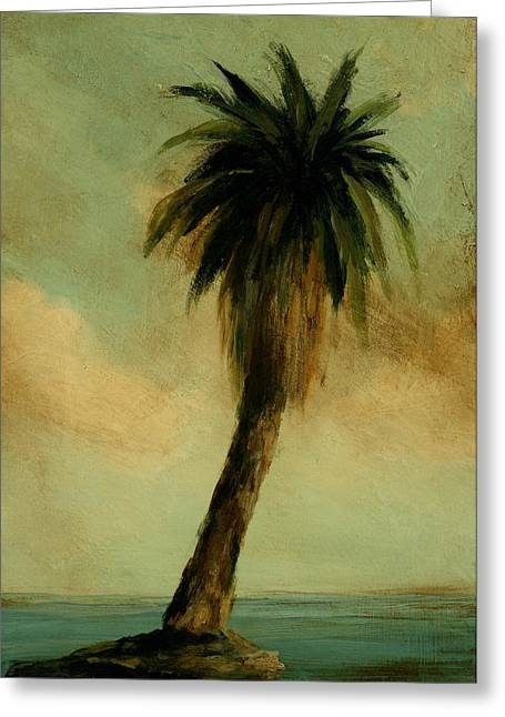 Mayfield Greeting Cards - Palm 4 Greeting Card by Mickey Mayfield