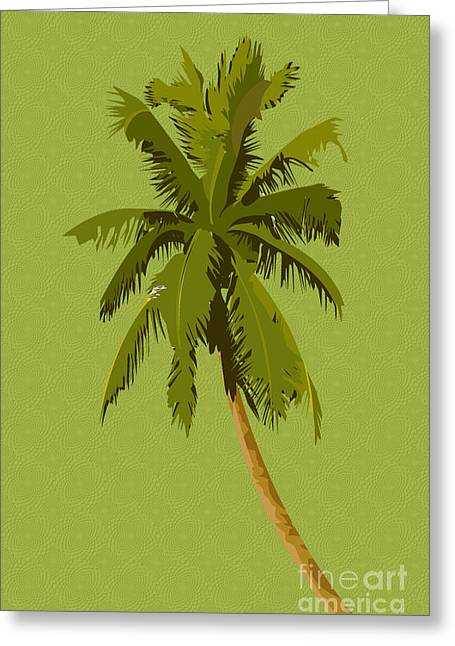 Installation Art Greeting Cards - Palm Breeze Greeting Card by Tina M Wenger