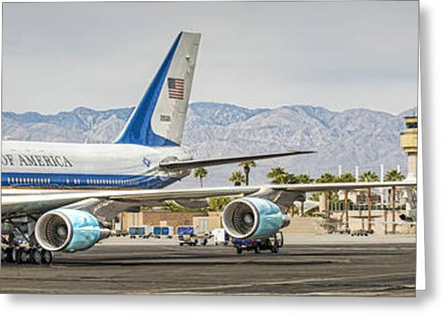 Palm Springs Airport Greeting Cards - Palm Springs Salutes Greeting Card by Jay Hooker