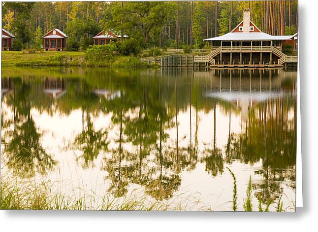 Low Country Cottage Greeting Cards - Palmetto Bluff South Carolina Greeting Card by Bob Pardue
