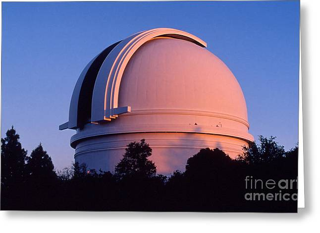 Californian Greeting Cards - Palomar Observatory Greeting Card by Babak Tafreshi