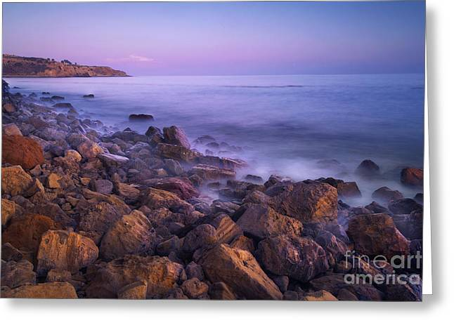 Nada Mas Photography Llc. Greeting Cards - Palos Verdes Evening Greeting Card by Marco Crupi