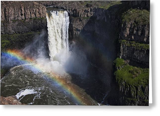 Beauty Mark Greeting Cards - Palouse Falls II Greeting Card by Mark Kiver