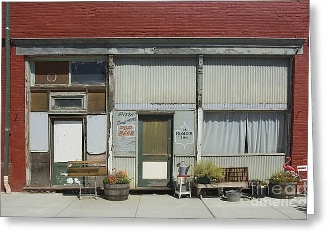 Main Street Greeting Cards - Palouse, Washington State Greeting Card by John Shaw
