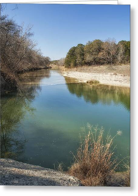 Best Sellers Greeting Cards - Paluxy River Greeting Card by Melany Sarafis
