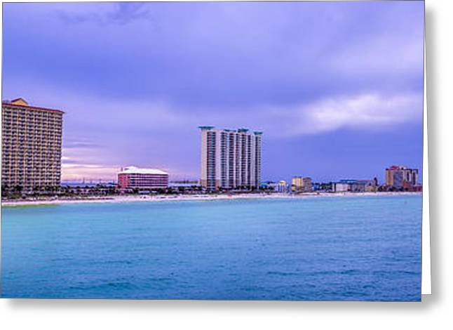 Panama City Greeting Cards - Panama City Beach Greeting Card by David Morefield