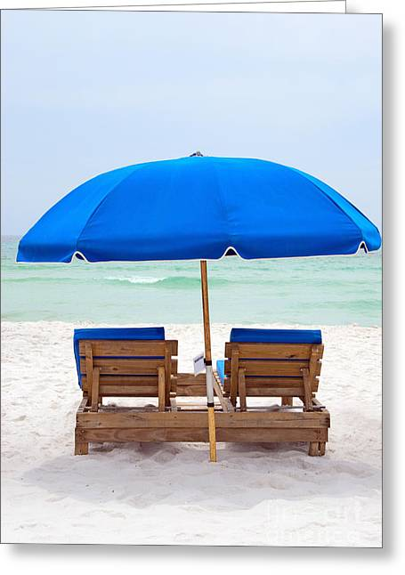 Panama City Beach Florida Greeting Card by Vizual Studio