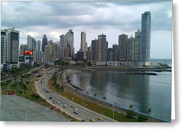 Panama City Greeting Cards - Panama City Greeting Card by Mountain Dreams