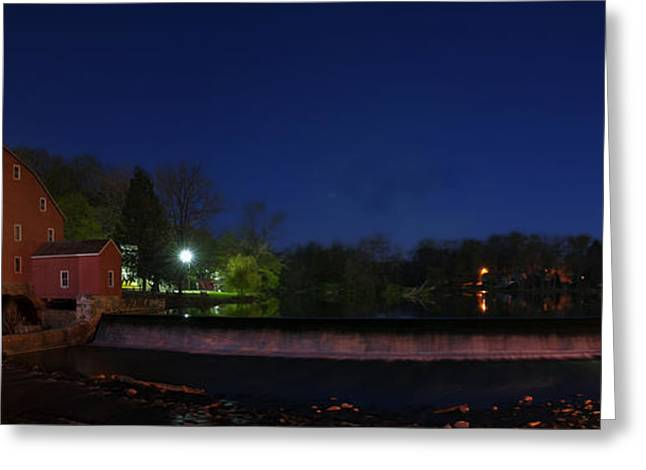 Hdr Landscape Greeting Cards - Pano Milled Greeting Card by Ryan Crane