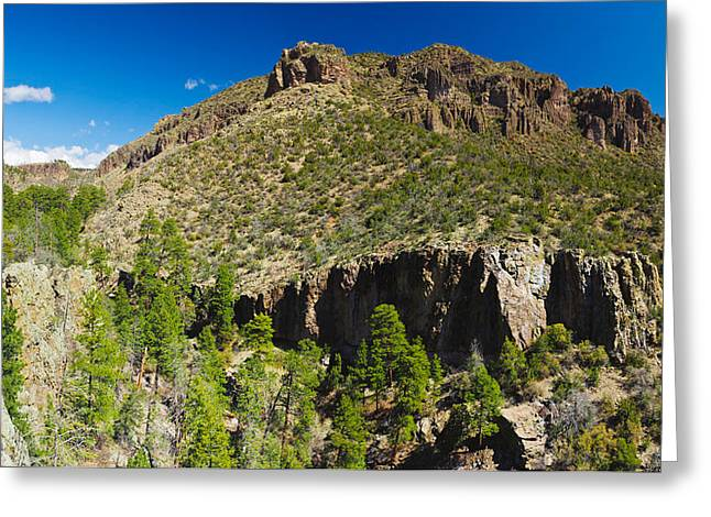 Santa Fe National Forest Greeting Cards - Panorama Of Dome Wilderness, San Miguel Greeting Card by Panoramic Images