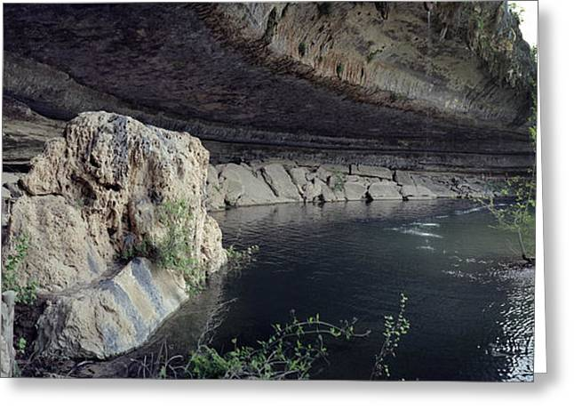 Hamilton Pool Texas Greeting Cards - Panoramas by Mark Langford Greeting Card by Mark Langford