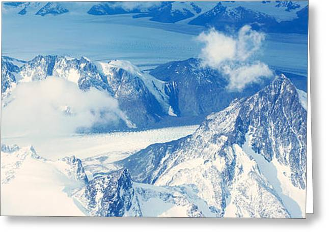 Andes Greeting Cards - Panoramic Aerial View At 3400 Meters Greeting Card by Panoramic Images