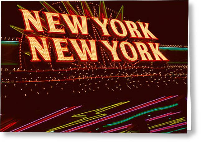 Hotels And Resorts Greeting Cards - Panoramic View Of New York New York Greeting Card by Panoramic Images