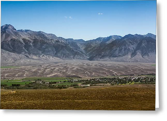 Usa Hikes Greeting Cards - Panoramic Of Mackay Greeting Card by Robert Bales