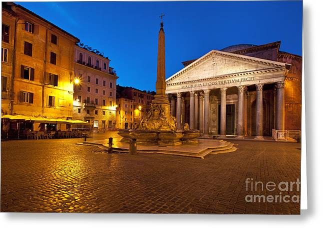 Pantheon Greeting Cards - Pantheon Greeting Card by Brian Jannsen