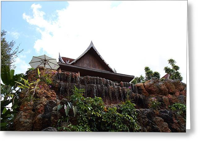 Panviman Chiang Mai Spa And Resort - Chiang Mai Thailand - 011321 Greeting Card by DC Photographer