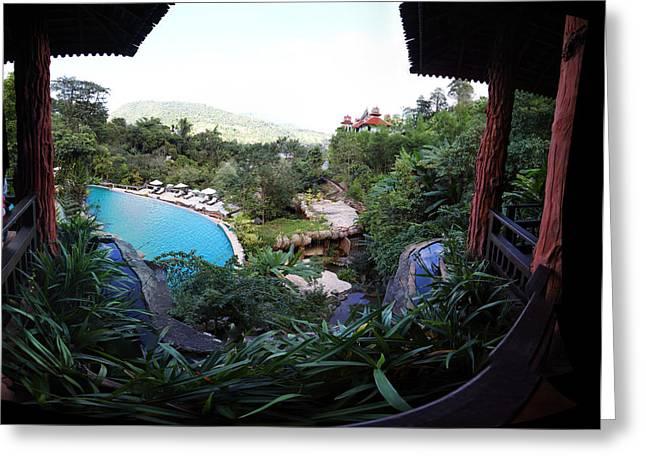 Spa Greeting Cards - Panviman Chiang Mai Spa and Resort - Chiang Mai Thailand - 011327 Greeting Card by DC Photographer