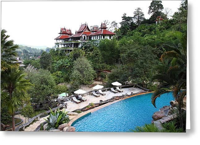 Spa Greeting Cards - Panviman Chiang Mai Spa and Resort - Chiang Mai Thailand - 011331 Greeting Card by DC Photographer