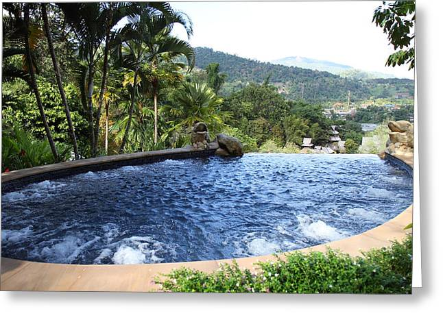 Panviman Chiang Mai Spa And Resort - Chiang Mai Thailand - 011334 Greeting Card by DC Photographer