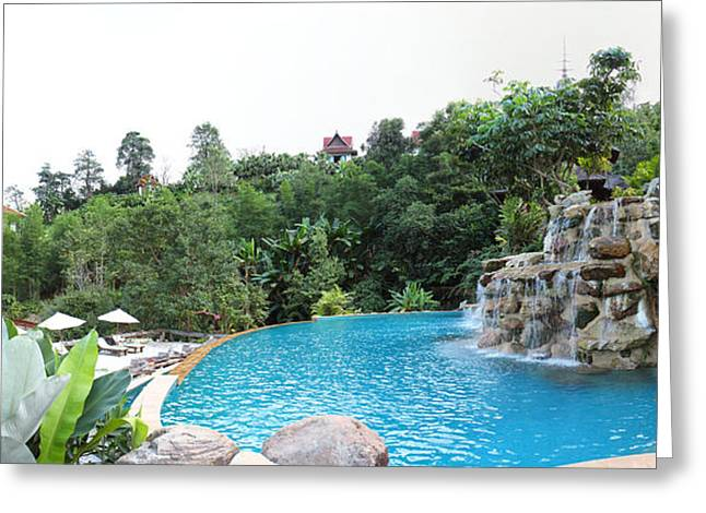 Panviman Chiang Mai Spa And Resort - Chiang Mai Thailand - 011337 Greeting Card by DC Photographer