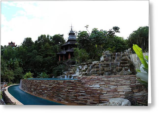 Panviman Chiang Mai Spa And Resort - Chiang Mai Thailand - 011339 Greeting Card by DC Photographer