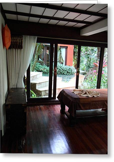 Panviman Chiang Mai Spa And Resort - Chiang Mai Thailand - 011361 Greeting Card by DC Photographer