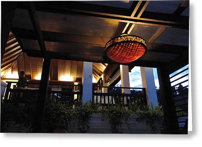 Panviman Chiang Mai Spa And Resort - Chiang Mai Thailand - 011375 Greeting Card by DC Photographer