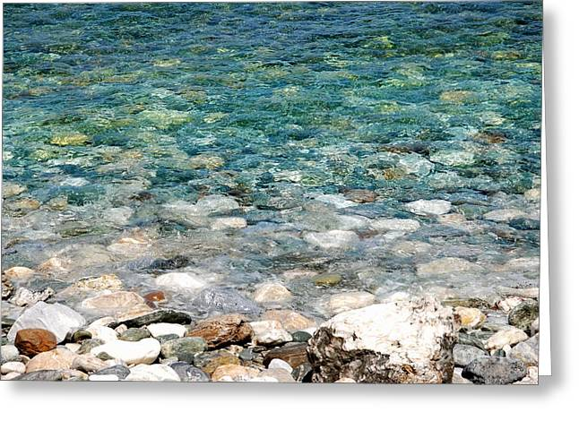 Pelion Greeting Cards - Papa Nero Waters Greeting Card by Andrea Simon