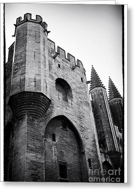 Papal Greeting Cards - Papal Tower Greeting Card by John Rizzuto