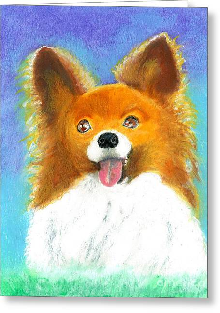 Toys Pastels Greeting Cards - Lilli Greeting Card by Aaron Koster