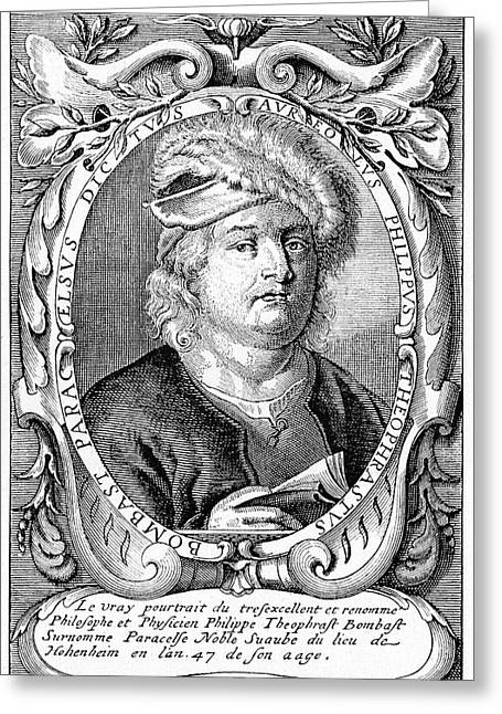 Paracelsus Greeting Card by Cci Archives
