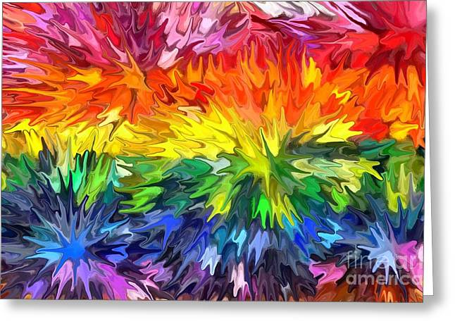 Color Greeting Cards - Paradise Greeting Card by Chris Butler