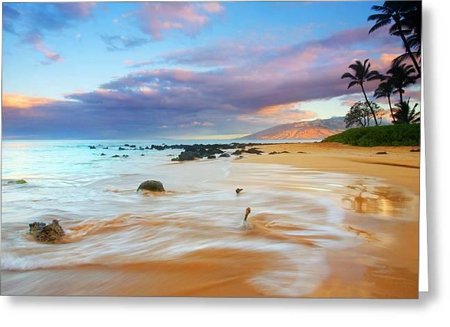 Paradise Dawn Greeting Card by Mike  Dawson