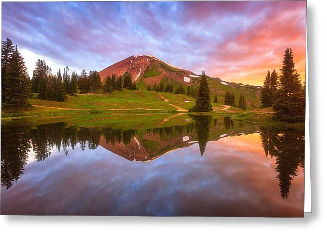 Colorado Mountain Greeting Cards Greeting Cards - Paradise Dreams Greeting Card by Darren  White