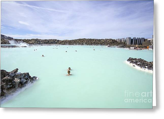 Geothermal Greeting Cards - Paradise - Found Greeting Card by Evelina Kremsdorf