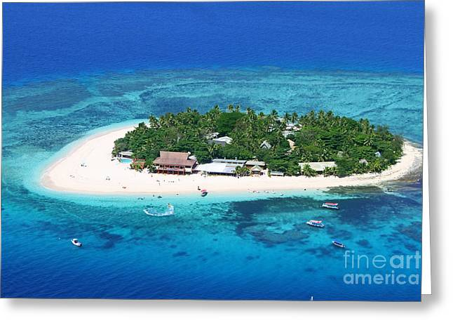 Pacific Islands Greeting Cards - Paradise Island in South Sea III Greeting Card by Lars Ruecker