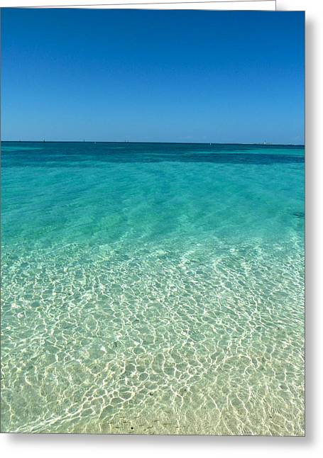 Dry Tortugas Greeting Cards - Paradise Greeting Card by Michelle Wiltz