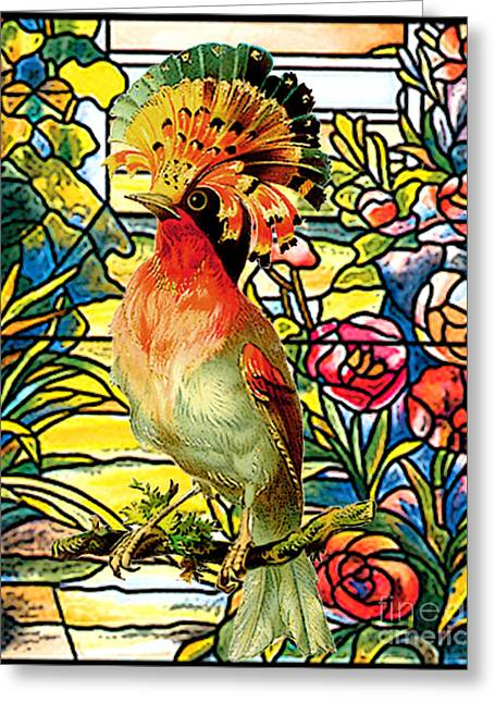 Paradise Perch Greeting Card by Tammera Malicki-Wong