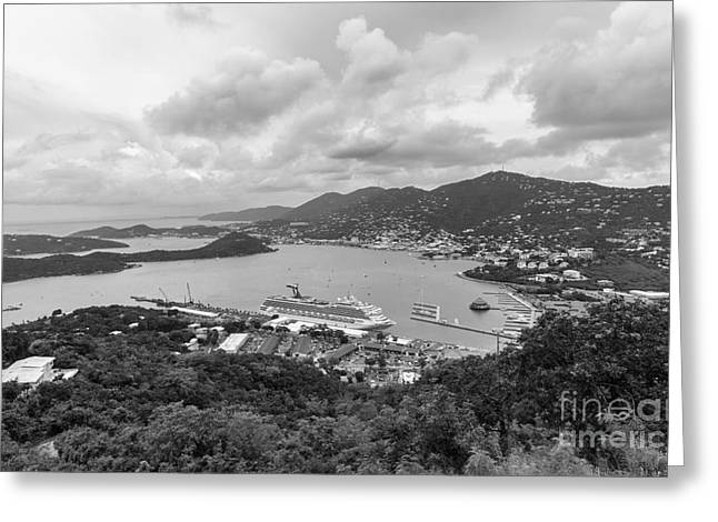 Virgin Pyrography Greeting Cards - Paradise point tramway view Greeting Card by Eyzen M Kim