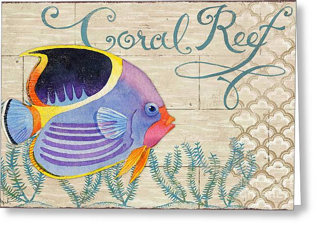 Reef Fish Greeting Cards - Paradise Reef III Greeting Card by Paul Brent