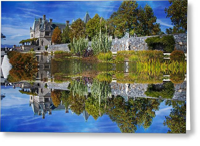Nc Estate Greeting Cards - Paradise Reflection Greeting Card by Betsy A  Cutler