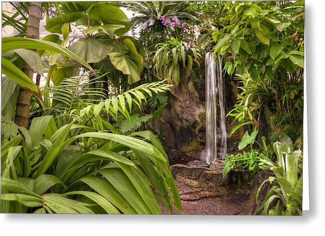 Tropical City Prints Greeting Cards - Paradise Greeting Card by Ricky Barnard
