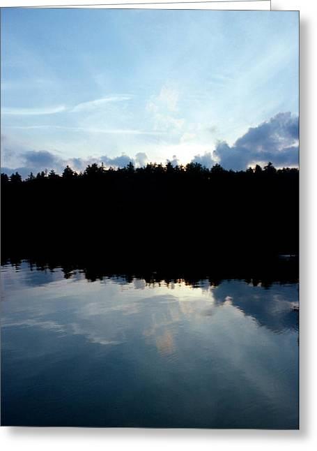 Lake Paradox Greeting Cards - Paradox Lake  Greeting Card by Brian Lucia