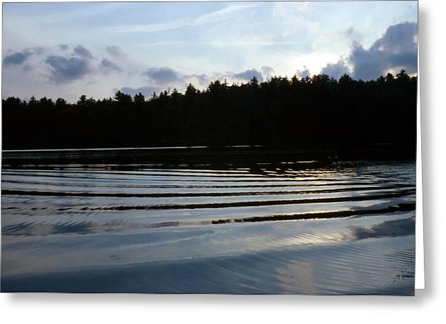 Lake Paradox Greeting Cards - Paradox Lake III  Greeting Card by Brian Lucia