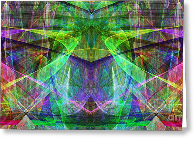Parallel Universe ap130511-22 Greeting Card by Wingsdomain Art and Photography