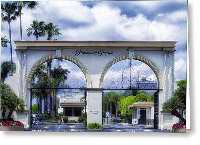 Plant Hollywood Greeting Cards - Paramount Pictures Greeting Card by Mountain Dreams