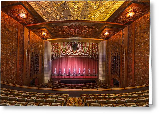 Orchestra Pit Greeting Cards - Paramount Theatre - Oakland California Greeting Card by Mountain Dreams