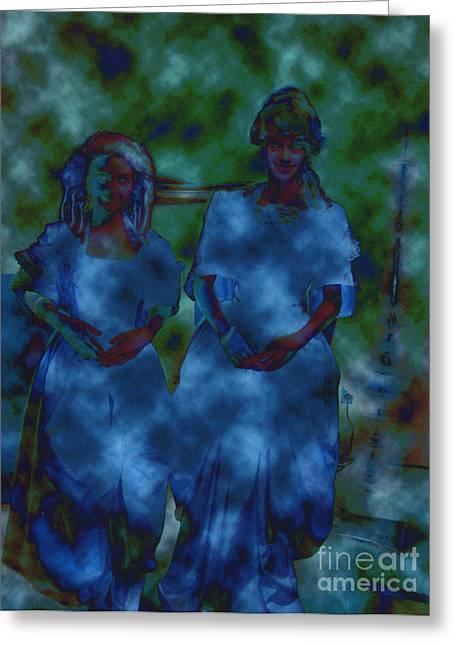 Samhaim Greeting Cards - Paranormal Greeting Card by First Star Art